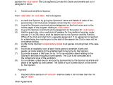 Sponsor Contract Template Sponsorship Contract Template