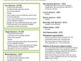Sponsor Flyer Templates Bpp Sponsorship Flyer Images Frompo
