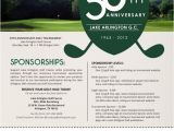 Sponsor Flyer Templates Sponsor form Templates Google Search Presidents Cup
