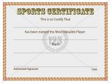 Sports Certificates Templates Free Download 8 Best Places to Visit Images On Pinterest Award