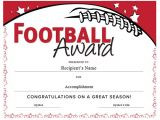 Sports Certificates Templates Free Download Football Certificate Templates Free Invitation Template