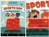 Sports Day Poster Template Kid 39 S Sports Day Flyer Template Flyerheroes