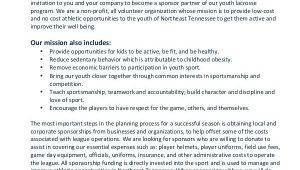 Sports Team Sponsorship Proposal Template 11 Sports Sponsorship Proposal Templates Free Sample