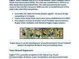 Sports Team Sponsorship Proposal Template Sports Team Sponsorship Proposal Template One Piece