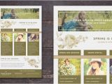 Spring Email Template April 2014 Spring Email Newsletter Template
