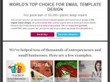 Spring Email Template Crowdspring Email Template Design Reviews Ratings Info