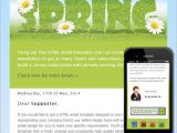 Spring Email Template Spring Free HTML E Mail Templates