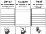 Sq3r Template 3 6 Free Resources Sq3r Reading Strategy Freebie
