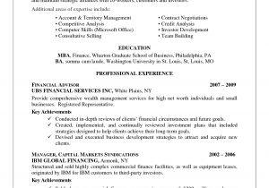 Sqa Resume Sample Financial Advisor Resume Cover Letter Examples Krida Info