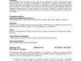 Sql Basic Resume Paulette Warrick Sql Developer Resume