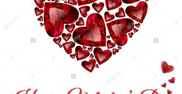 St Jude Valentine Day Card Heart Rubys Stockfotos Heart Rubys Bilder Alamy