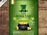 St Patrick Day Flyer Template Free Freebie 5 Free Flyer Poster Templates for St Patrick 39 S Day