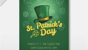 St Patrick Day Flyer Template Free St Patrick 39 S Day Flyer Template Vector Free Download