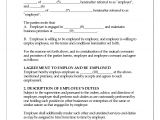 Staff Contracts Template 8 Employee Contract Sample Timeline Template