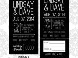 Stag and Doe Ticket Templates Stag Doe Ticket Simple Arrow and Heart Design