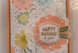 Stampin Up Anniversary Card Ideas Happy Birthday Stampin Up Card with Images Happy