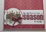 Stampin Up Christmas Card Ideas Christmas Card Stampin Up Merry Patterns Stamp Set