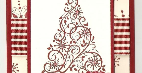 Stampin Up Christmas Card Ideas Stampin Up Snow Swirled Card Kit Christmas Stamped
