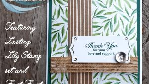 Stampin Up Farewell Card Ideas Farewell Frosted Floral with Images Cards Handmade