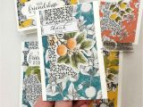 Stampin Up Thank You Card Ideas 10 Botanical Prints Card Kit Ideas Patty Stamps