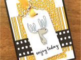 Stampin Up Thank You Card Ideas Adorable Moose Birthday Card Stampin Pretty