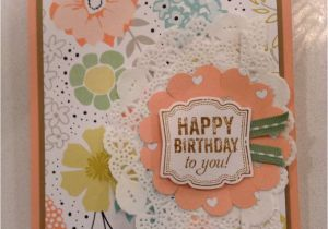 Stampin Up Thank You Card Ideas Happy Birthday Stampin Up Card with Images Happy