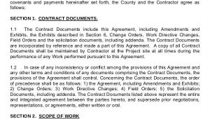 Standard Construction Contract Template Construction Contract Template 12 Word Pdf Apple