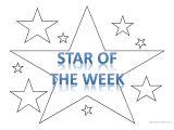 Star Of the Week Poster Template 39 Star Of the Week 39 Template Worksheet Free Esl