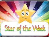 Star Of the Week Poster Template Star Of the Week Template Invitation Template