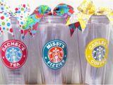 Starbucks Personalized Tumbler Template Personalized Starbucks Tumbler by Nanasbunchdesigns On Etsy