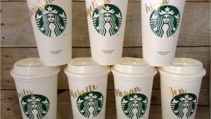 Starbucks Personalized Tumbler Template Starbucks Tumbler Personalized Starbucks Cup Gift by
