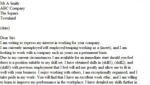 Starting A Covering Letter Immediate Start Cover Letter Example Icover org Uk