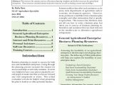 Startup Farm Business Plan Template Agricultural Business Planning Templates and Resources