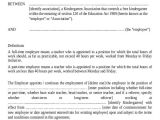 Statement Of Terms and Conditions Of Employment Template 8 Employment Agreement Samples Sample Templates