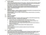 Statement Of Works Template 10 Statement Of Work Samples Sample Templates