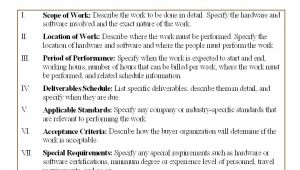 Statement Of Works Template 5 Free Statement Of Work Templates Word Excel Pdf