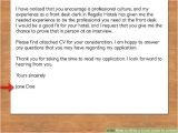 Steps On How to Write A Cover Letter How to Write A Cover Letter to A Hotel with Pictures