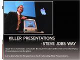 Steve Jobs Powerpoint Template Art Of Making Presentations Steve Jobs Way Authorstream