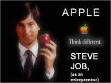 Steve Jobs Powerpoint Template Steve Job N Apple Authorstream