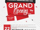 Store Opening Flyer Template Grand Opening Flyer Design Template In Word Psd