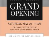 Store Opening Flyer Template Grand Opening Flyer Template Postermywall