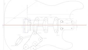 Stratocaster Routing Template Fender Stratocaster Guitar Templates Electric Herald