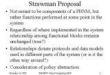 Strawman Proposal Template Strawman Proposal