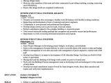 Structural Engineer Resume Senior Structural Engineer Resume Samples Velvet Jobs