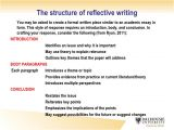 Structured Reflective Template Writing Reflective Essay Samples Essay Due today