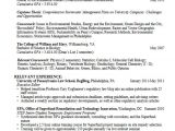 Student Graduate Resume Career Services Sample Resumes for Graduate Students and
