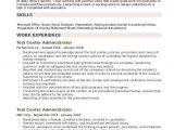 Student Hub Resume Test Center Administrator Resume Samples Qwikresume