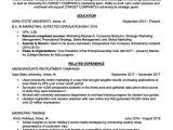 Student Internship Resume Objective Examples Marketing Intern Resume Sample Writing Tips Resume