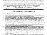 Student Leader Resume Sample Civic Leader Political Resume Objective Sample Resume