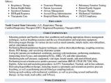 Student Respiratory therapist Resume Resume Samples Types Of Resume formats Examples Templates